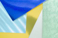 Shiny textured construction paper Royalty Free Stock Images