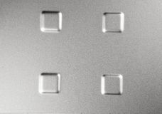Shiny textured metal stock photo