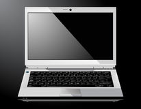 Shiny Vector Laptop Stock Image