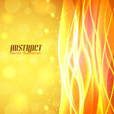 Shiny wave abstract background Royalty Free Stock Image