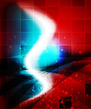 Shiny wave, magicabstract background Stock Photos