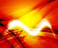 Shiny wave, magicabstract background. Shiny wave, magic light efffect vector abstract background stock illustration