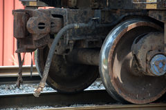 Shiny wheel Stock Images