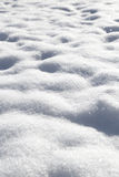 Shiny white soft snow Royalty Free Stock Photo