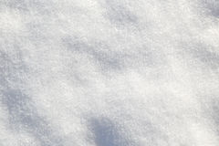 Shiny white soft snow Stock Photos