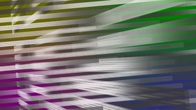 Shiny white yellow purple green blue lights stripes abstract Background. royalty free illustration