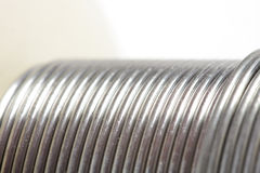 Shiny wire abstract Royalty Free Stock Image