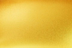 Shiny yellow gold abstract metal texture. Background Royalty Free Stock Photo