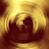 Shiny yellow gold foil texture background Stock Photography