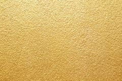 Shiny Yellow Leaf Gold Foil Texture Background Royalty Free Stock Images