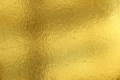 Free Shiny Yellow Leaf Gold Foil Texture Background Stock Images - 119508554