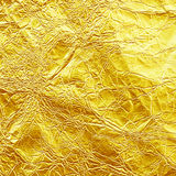 Shiny yellow leaf gold foil texture for background stock images