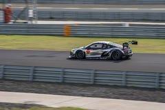 Shinya Hosokawa of Audi Team Racing Tech in Super GT Final Race Royalty Free Stock Photo