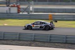 Shinya Hosokawa of Audi Team Racing Tech in Super GT Final Race Stock Images