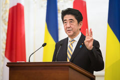 Shinzo Abe Stock Photos