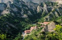Shio-Mgvime monastery. In Georgia Royalty Free Stock Photos