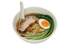 Shio ramen noodles , japanese food Royalty Free Stock Image