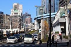 shiodome东京 库存图片