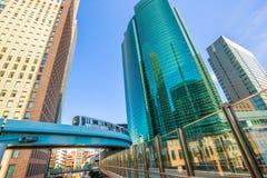 Shiodome City Center Stock Photos