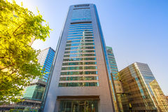Shiodome Media Tower Royalty Free Stock Images
