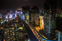 Shiodome skyline Tokyo Stock Photography