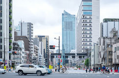 Shiodome station in Tokyo, Japan Royalty Free Stock Image