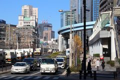 Shiodome, Tokyo Stock Images