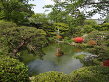 Shiogama shrine garden - Japan Royalty Free Stock Images