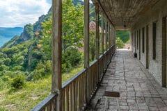 Shiomghvime kloster Georgia Eastern Europe Arkivfoto