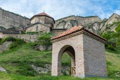 Shiomghvime kloster Georgia Eastern Europe Royaltyfri Bild