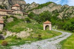 Shiomghvime kloster Georgia Eastern Europe Royaltyfria Foton