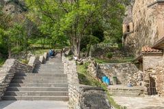 Shiomghvime kloster Georgia Eastern Europe Arkivbild