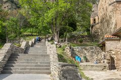 Shiomghvime monaster Gruzja Europa Wschodnia Fotografia Stock