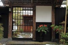 Shiomi-nawate street (castle town) in Matsue Stock Photos