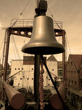 Ship�s bell Stock Photography