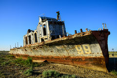 Ship №99 Stock Image