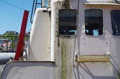 ship& x27 πλευρά του s, λεπτομέρεια στοκ εικόνα με δικαίωμα ελεύθερης χρήσης