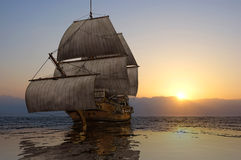 The  ship Royalty Free Stock Images