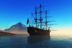 The  ship Royalty Free Stock Photo