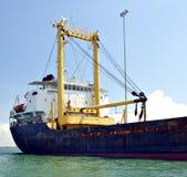Ship. An oil tanker Stock Photos