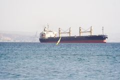 Ship. Over the Red Sea Stock Photography