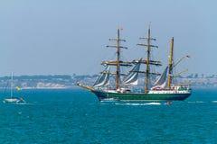 Ship Alexander Von Humboldt II Stock Photo