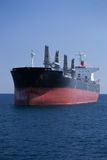 Ship in Alicante. Vessel in ALicante anchorage bay Royalty Free Stock Photography