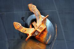 Ship anchor Stock Photography