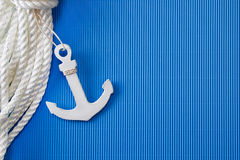 Ship anchor Stock Photo