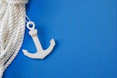 Ship anchor Stock Photo