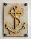 Ship anchor Stock Images