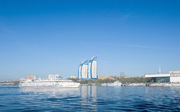 Free Ship And River Port Stock Images - 14147824