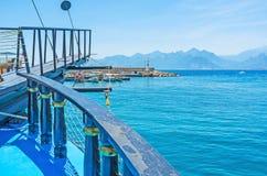 On ship in Antalya Royalty Free Stock Image