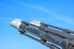 Ship artillery Stock Photography